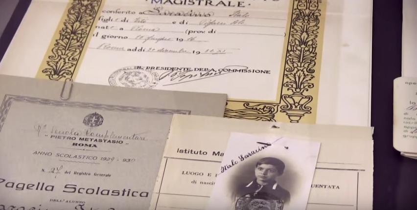 L'archivio del Liceo Vittoria Colonna di Roma