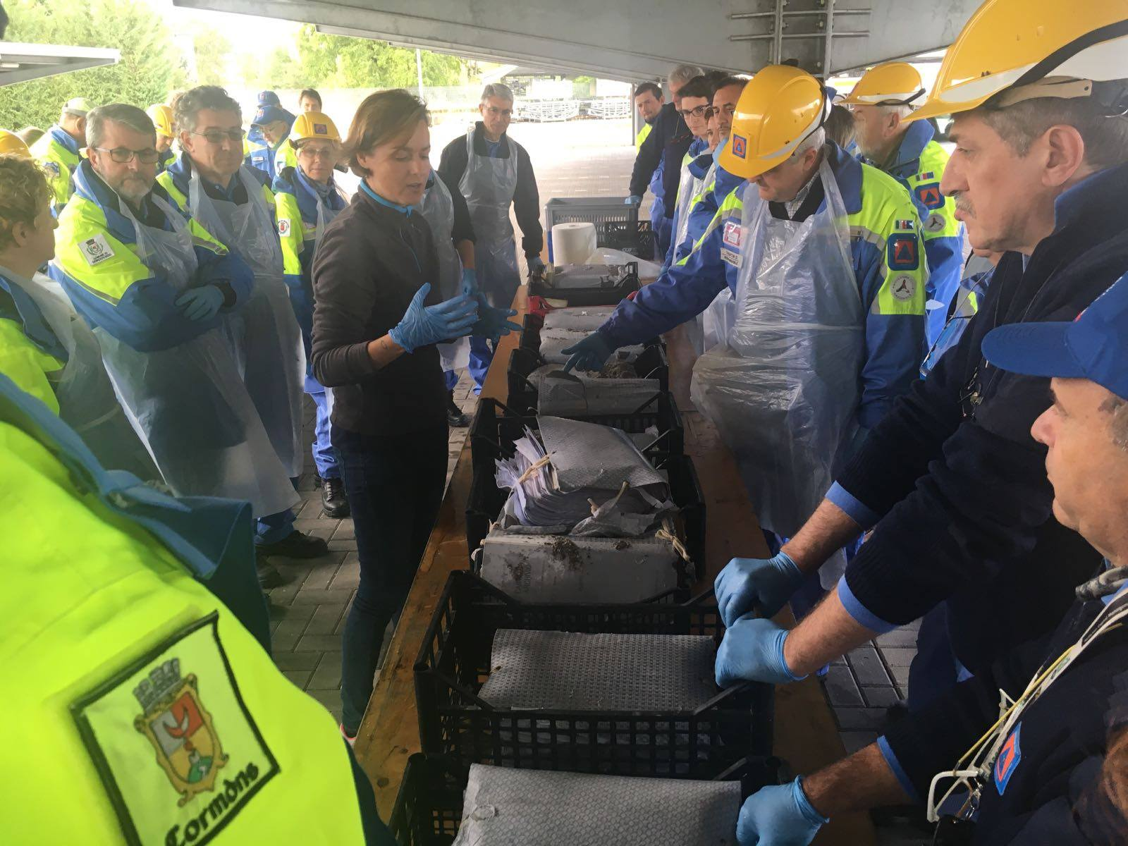 Palmanova, corso per la formazione di Volontari della Protezione Civile