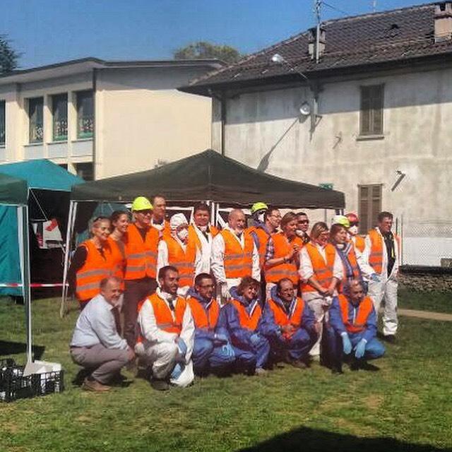 Workshop per il Nucleo di Protezione Civile Comunale di Lomazzo