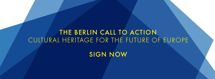 Berlin Call to Action – Cultural Heritage for the future of Europe. SOS Archivi sostiene l'iniziativa!