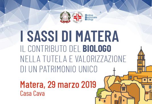 I Sassi di Matera: il contributo del Biologo nella tutela e valorizzazione di un patrimonio unico