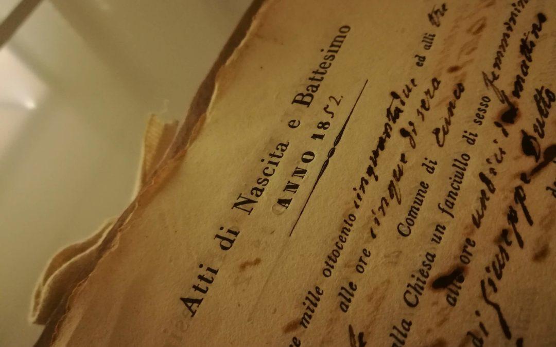 Archiva Ecclesiae: la sicurezza della memoria