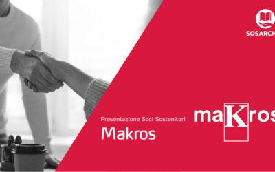 Makros Srl sostiene SOS Archivi
